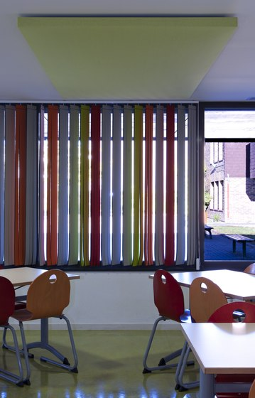 Vibrasto vertical blinds di Texaa® | Tende a strisce verticali