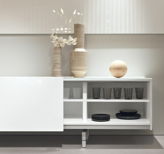 Sideboards Square SQ01 von Misura Emme | Sideboards / Kommoden