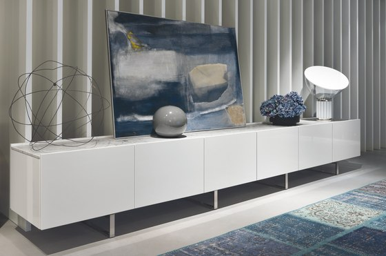 Sideboards Square SQ04 von Misura Emme | Sideboards / Kommoden