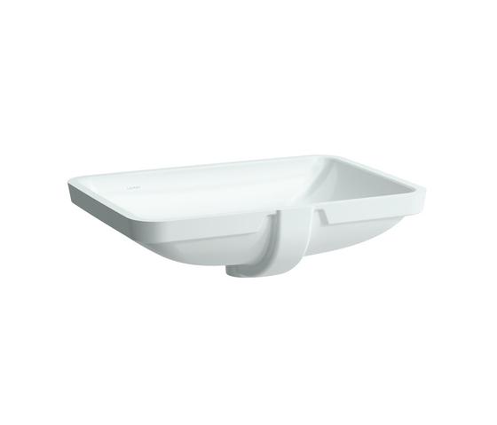 LAUFEN Pro A | Einbauwaschtisch von unten von Laufen | Waschtische
