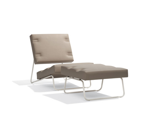 Lounge chair Hirche Outdoor by Richard Lampert | Garden armchairs