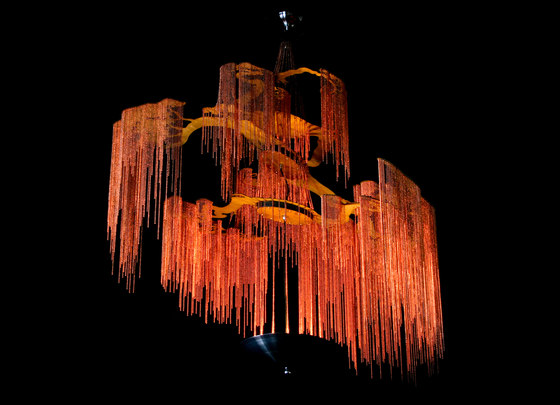 Enchanted Faraway Tree - 4 Tier - 1000 by Willowlamp | Suspended lights