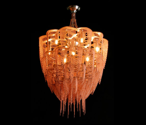 Protea - 500 -  suspended de Willowlamp | Objets lumineux