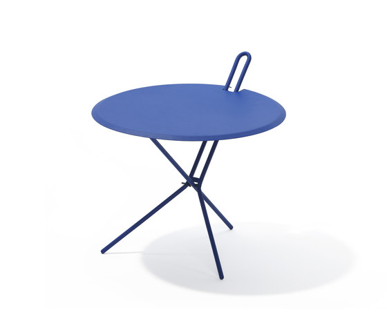 Hook folding table by Lampert | Side tables