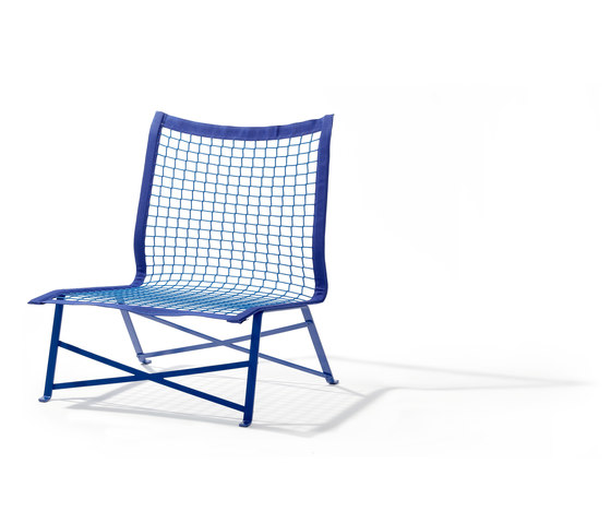 Tie Break chair by Lampert | Garden armchairs
