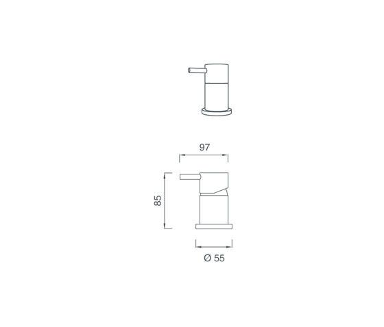 Mini MIN10 de CEADESIGN | Grifería para bidés