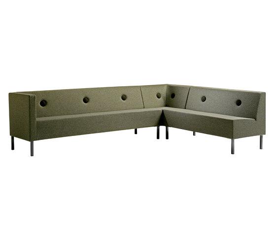 Stereo sofa by Mitab | Lounge sofas