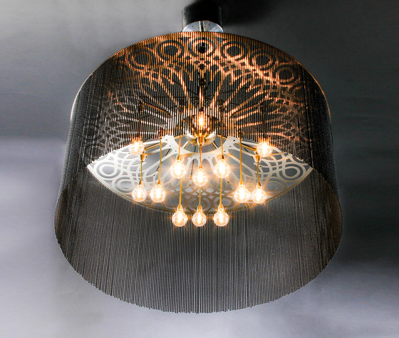 Ngoma Drum - 700 - suspended by Willowlamp | Suspended lights