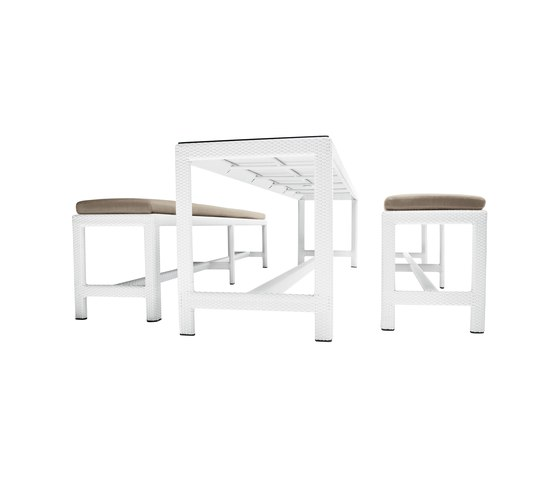 Soho Table and Bench by DEDON | Tables and benches