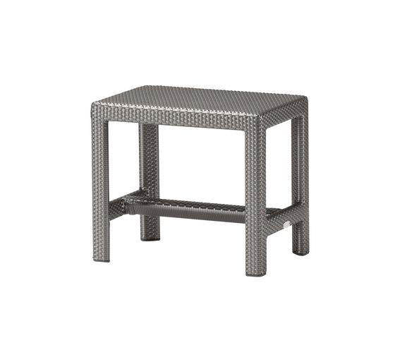 Soho Foot stool di DEDON | Sgabelli da giardino