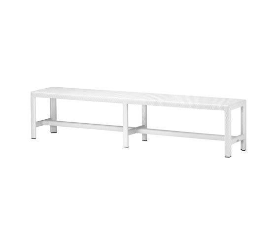 Soho Long bench de DEDON | Bancos de jardín