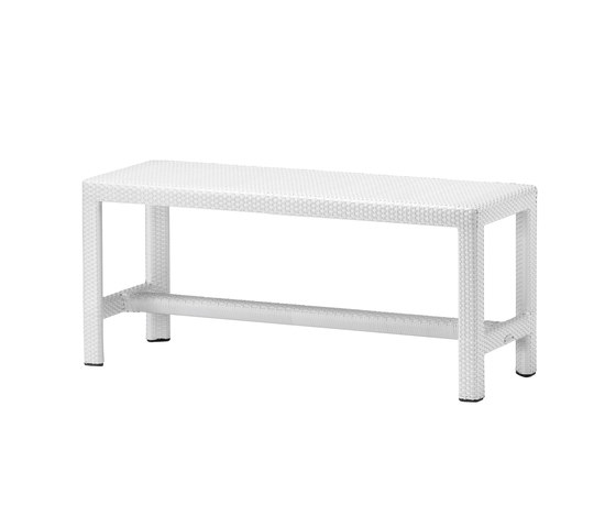 Soho Short bench di DEDON | Panche da giardino