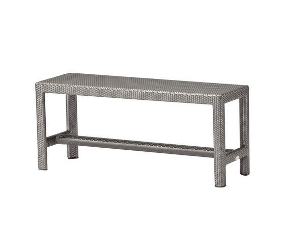 Soho Short bench de DEDON | Bancos de jardín