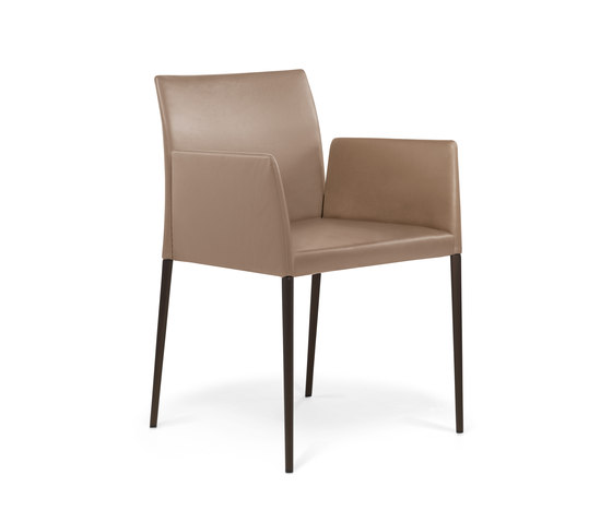 Deen chair with armrests de Walter Knoll | Sillas de visita