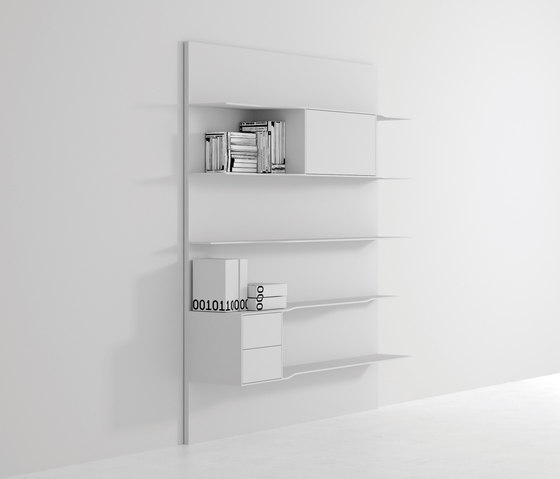 Wave wall system by MDF Italia | Shelving