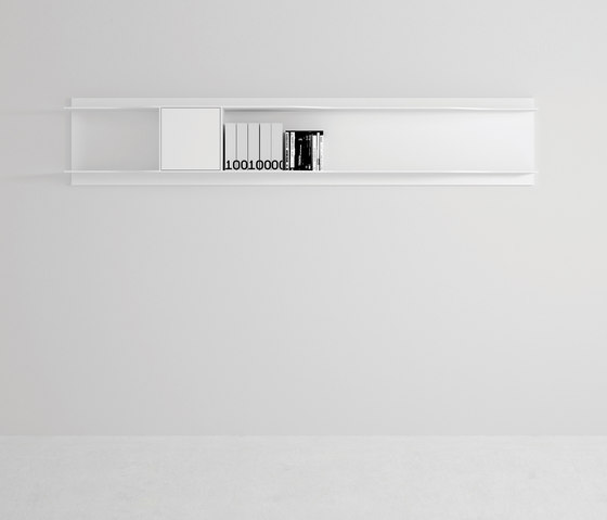 Wave wall system by MDF Italia | Wall shelves