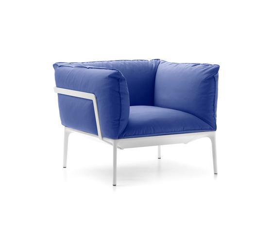Yale armchair de MDF Italia | Sillones lounge