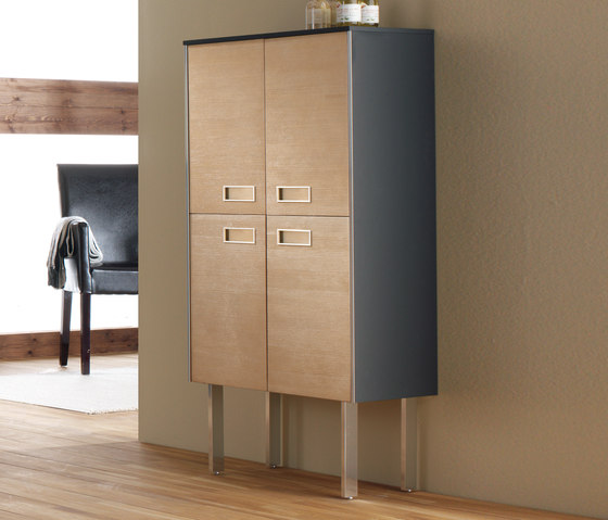 Colors Pine Beech by FIORA | Wall cabinets