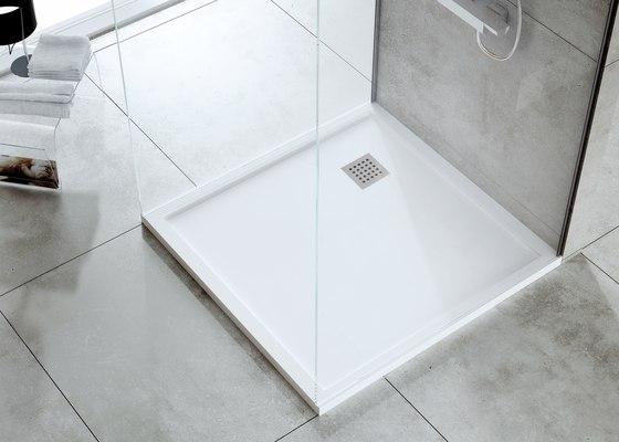 Enmarcado Blanco Total de FIORA | Platos de ducha