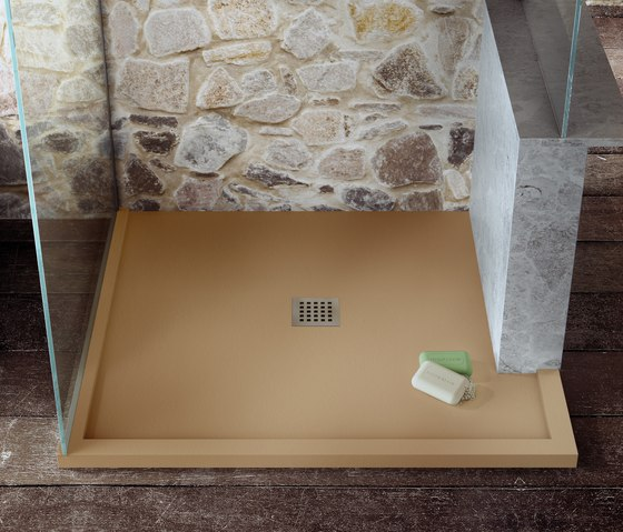 Enmarcado a Medida Arenisca by FIORA | Shower trays