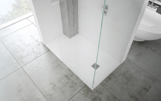 Extraplano Blanco by FIORA | Shower trays