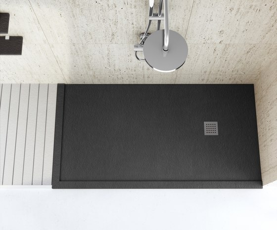 Enmarcado a medida de fiora arenisca negro blanco - Fiora platos de ducha precios ...