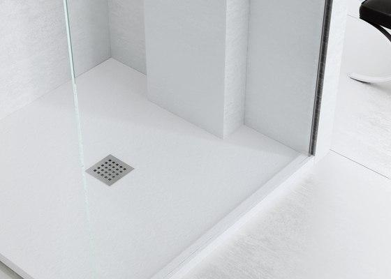 Enmarcado a medida di fiora arenisca negro blanco for Piatto doccia fiora