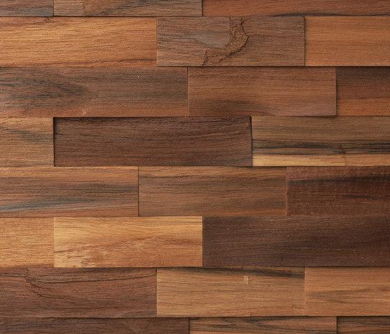 Tropicana Natura by Dune Cerámica | Wood mosaics