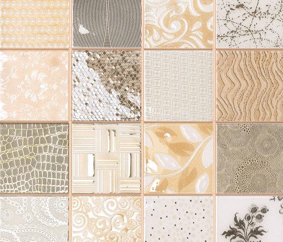 Tiffany Marfil von Dune Cerámica | Mosaike