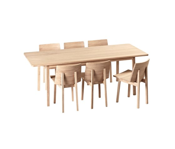 Wood Large Table by Feld | Dining tables