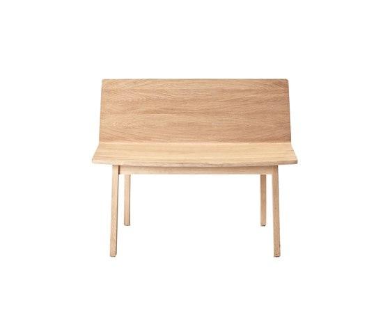 Wood Bench von Feld | Wartebänke