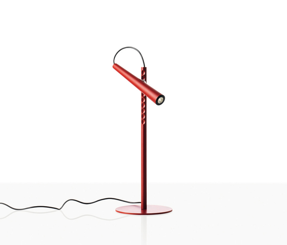 Magneto table red de Foscarini | Lampes de lecture