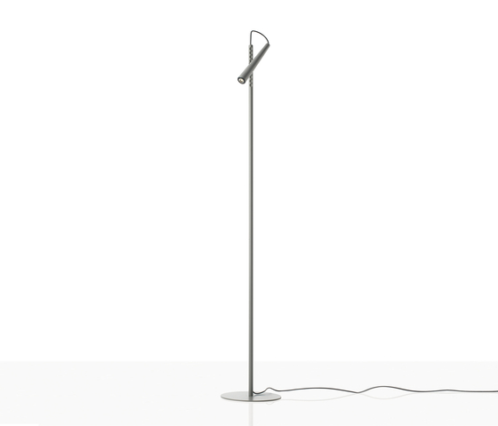 Magneto floor grey by Foscarini | Reading lights