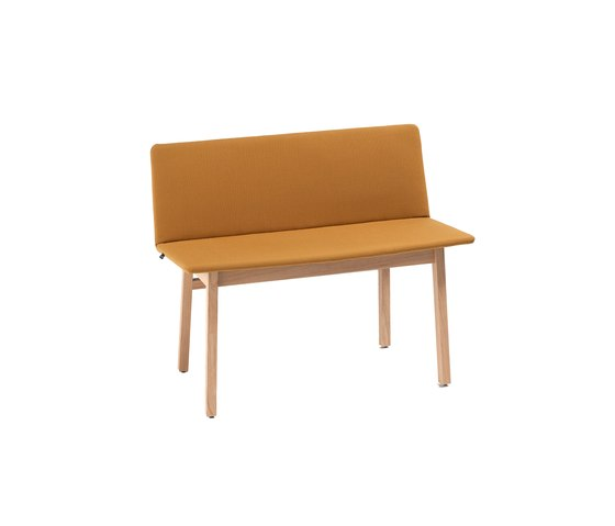 Wood Bench by Feld | Waiting area benches