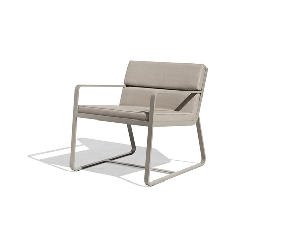 Sit low armchair by Bivaq | Garden armchairs