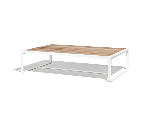Sit low table wood de Bivaq | Tables basses de jardin