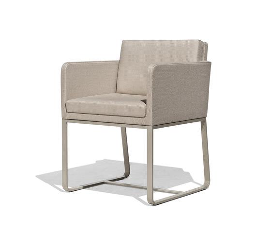 Mood armchair de Bivaq | Sièges de jardin