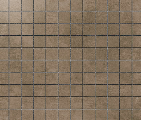 Damasco Marrón Natural Mosaic B by INALCO | Ceramic mosaics