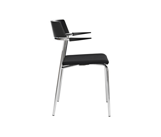 Cirkum chair with armrest by Randers+Radius | Visitors chairs / Side chairs