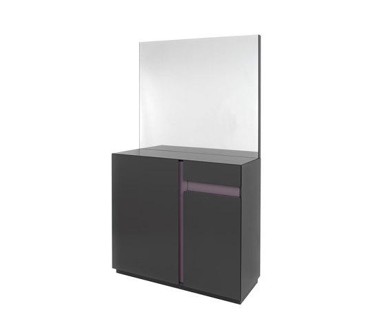 SECRET Coat storage program by Schönbuch | Mirrors