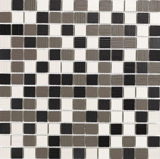 80.8 Blanco-Gris-Negro Mosaic de INALCO | Mosaïques