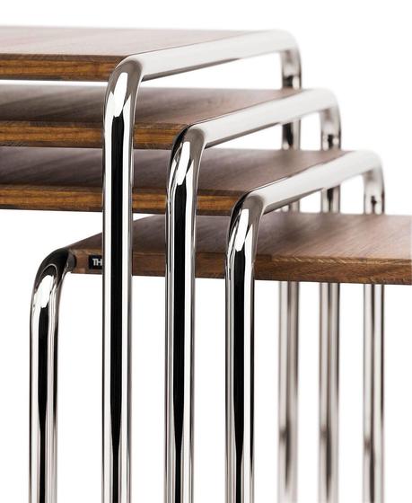 B 9 a-d Pure Materials de Thonet | Tables gigognes