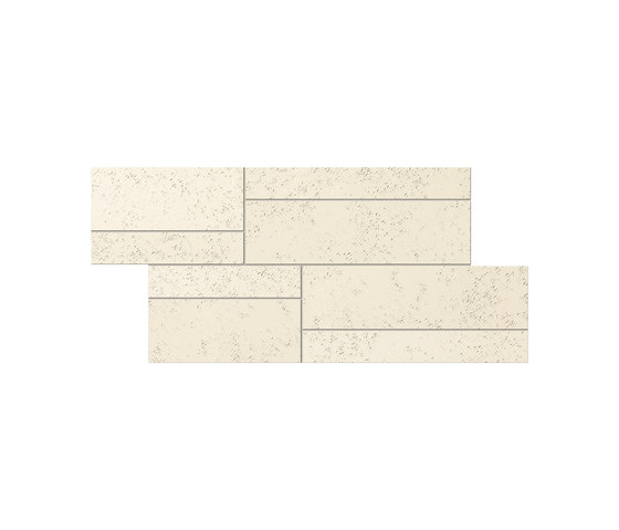 Prints Betton Pepper White Polished Mosaic von INALCO | Außenfliesen