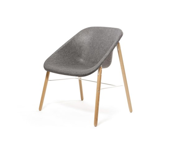 Kola Light Wood by Inno | Visitors chairs / Side chairs