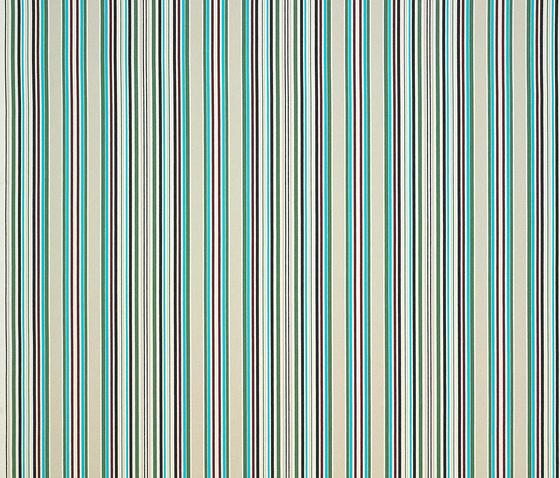 Caribe rojo-azul-verde by Gastón y Daniela | Curtain fabrics