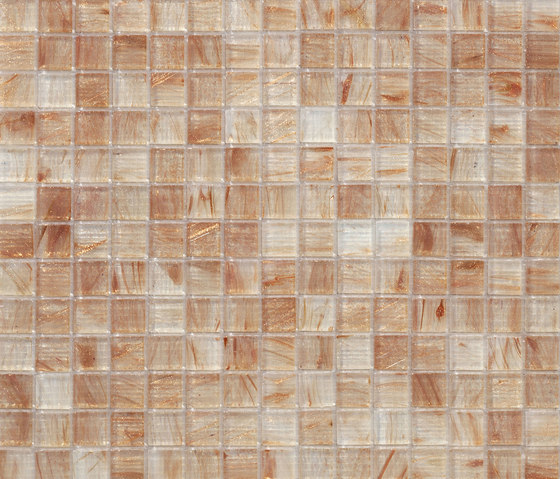 Aurore 20x20 Beige by Mosaico+ | Glass mosaics