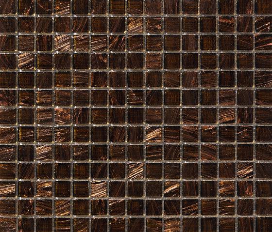 Aurore 20x20 Marrone by Mosaico+ | Glass mosaics