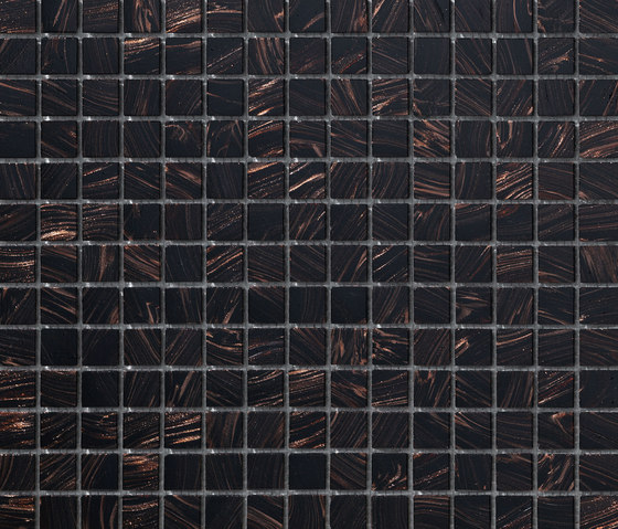 Aurore 20x20 Testa di Moro de Mosaico+ | Mosaicos de vidrio