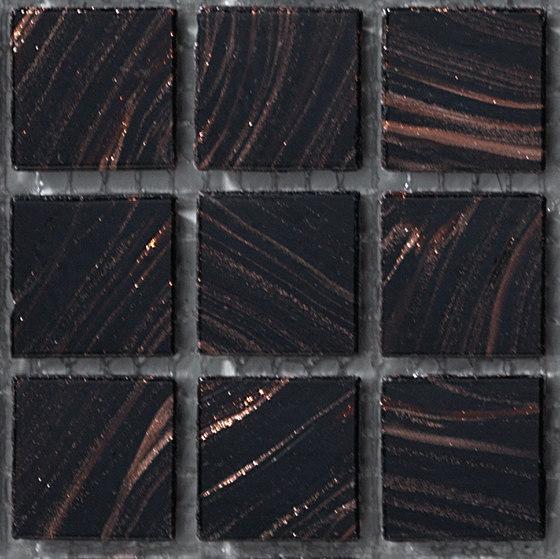 Aurore 20x20 Testa di Moro by Mosaico+ | Glass mosaics