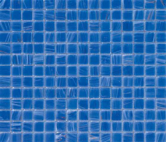 Aurore 20x20 Azzurro by Mosaico+ | Glass mosaics